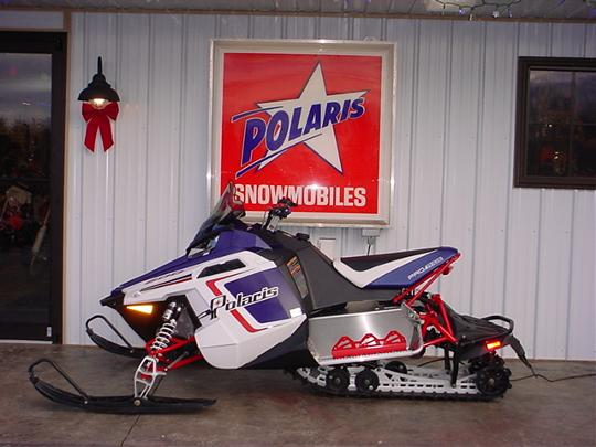 Polaris Snowmobiles sold at Edelmann Sales